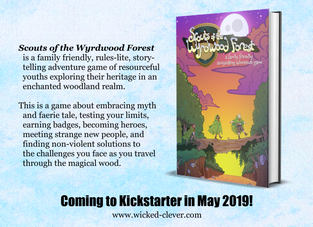 Scouts of the Wyrdwood Forest Playtest Podcast |